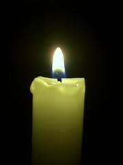 yellow-candle