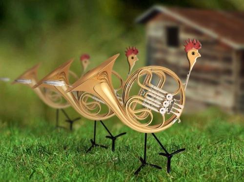 horn-hens