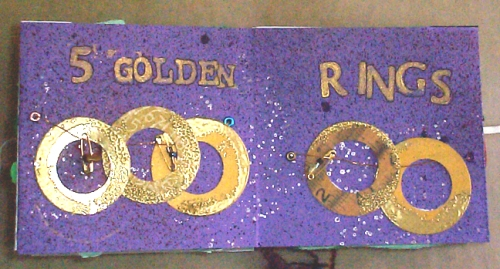 purple-golden-rings