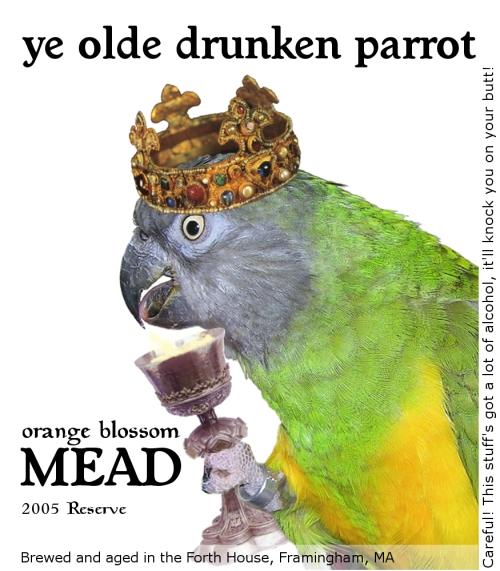 drunken parrot mead