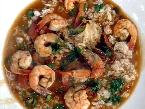 spicy seafood gumbo