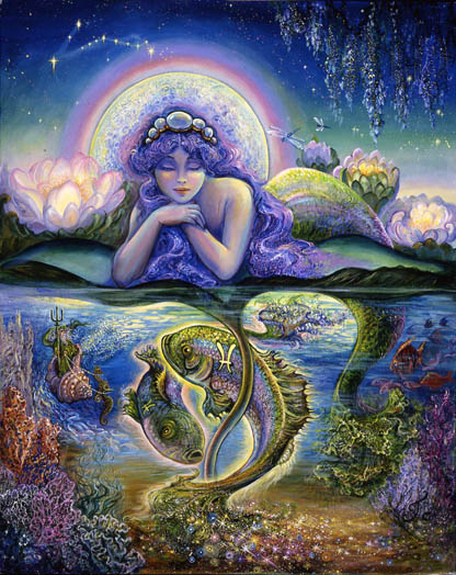 Pisces image oceanic consciousness Bliss, endings, compassion