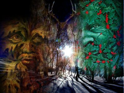 "Yule Series II – ""The Holly King vs. The Oak King"" « Deaf Pagan ..."