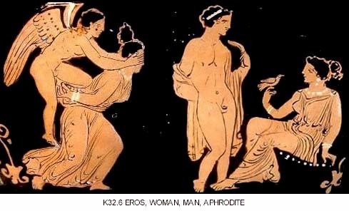 eros and aphrodite
