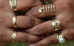 hands with rings