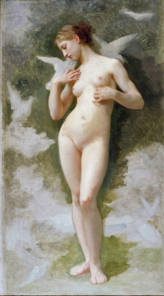 Venus with doves (1879) large