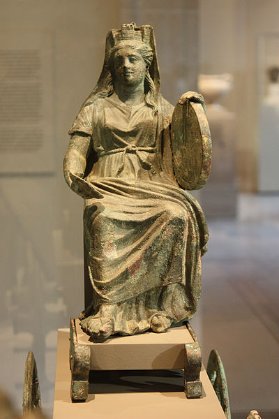 400px-Bronze_statuette_of_Cybele