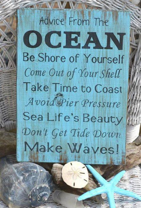 Lessons of the Ocean