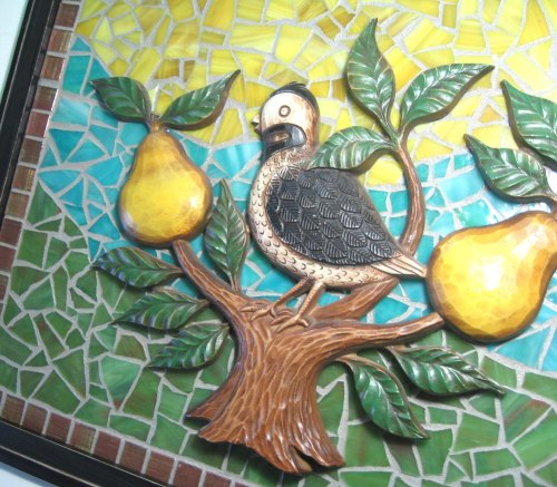 partridge mosiac