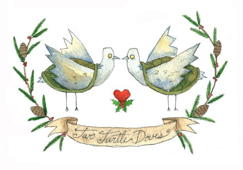 turtle doves card