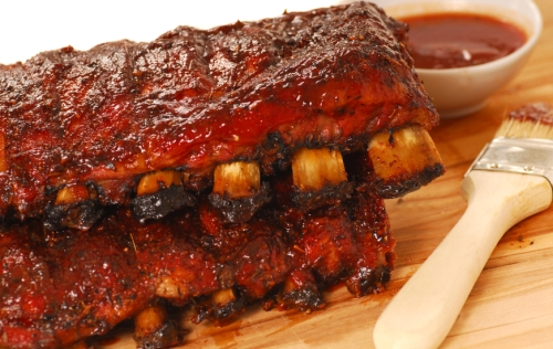 Slabs of BBQ Spare ribs