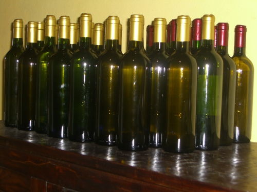 bottles of mead