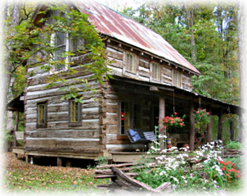 antigue_log_cabin_nashville_indiana