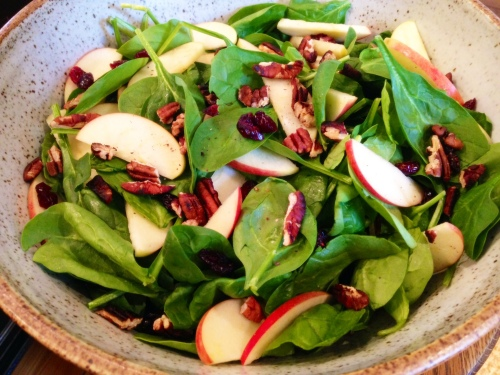 Spinach-Apple-Cranberry-Toasted-Pecan-Salad-1