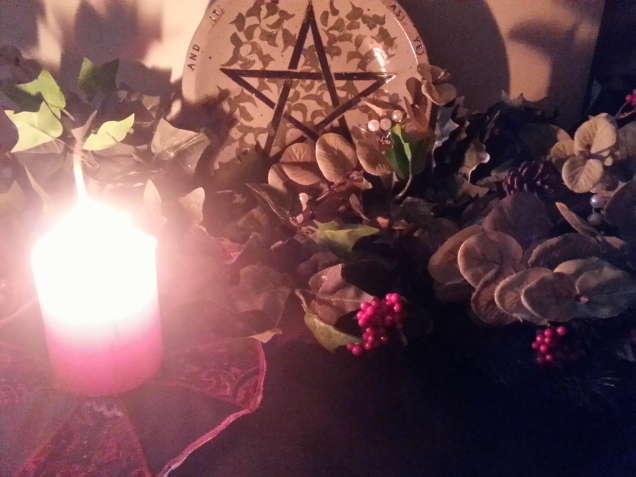 Winter Solstice Altar