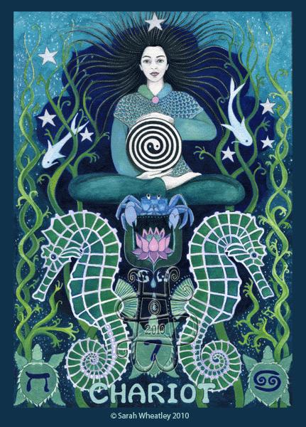 tarot-chariot Sarah Wheatley