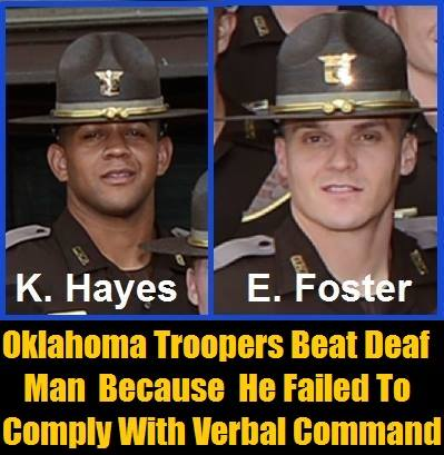 Oklahoma-Troopers-Kelton-Montel-Hayes-and-Eric-Foster-Suspended-With-Pay-For-Beating-Deaf-Man